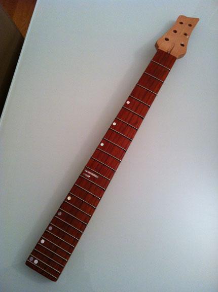 Costruire una chitarra: il manico