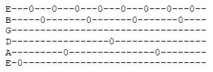 Arpeggi di tre note (usando p-m-a)