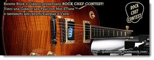 Comunicato: Rock Chef contest, concorso da non perdersi