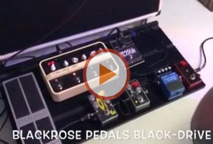 Blackrose Pedals Black-Drive