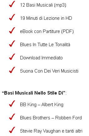 The Blues Room: il pacchetto di Antonio Orrico per improvvisare sul Blues
