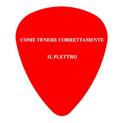 Lezione di chitarra per principianti: la posizione del plettro
