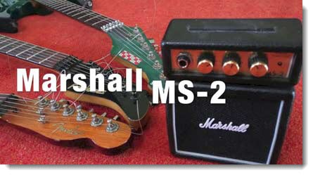 Recensione del mini Ampli Marshall MS-2 Rewiev