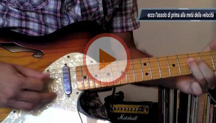 Lezione by BluesPerPrincipianti: Eric Clapton Style Lick