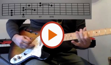 improvvisare pentatonica nello stile di Jimi Hendrix