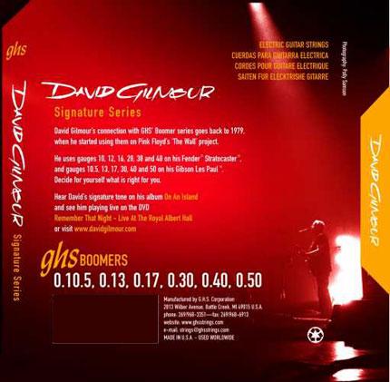 Corde per chitarra David Gilmour
