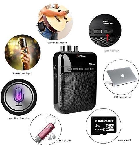 Lc Prime: Amplificatore e Registratore per chitarra con mp3