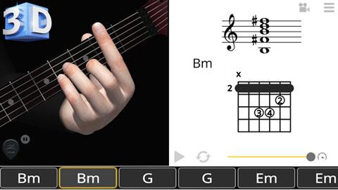 Guitar 3D Basic Chords. Un prontuario degli accordi nel taschino
